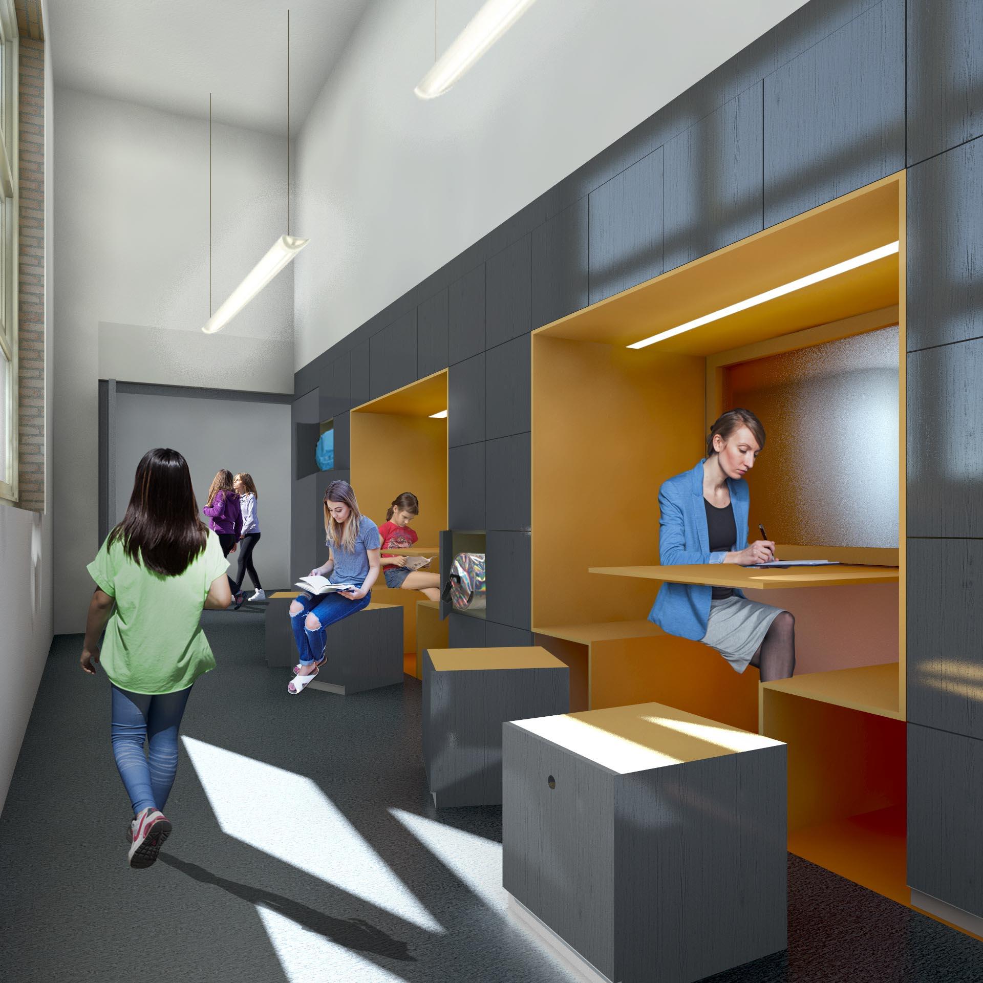 start bouw scholekster school interieur